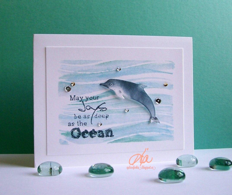 Frantic Stamper Bluenose Dolphin FRA-DIE-09512