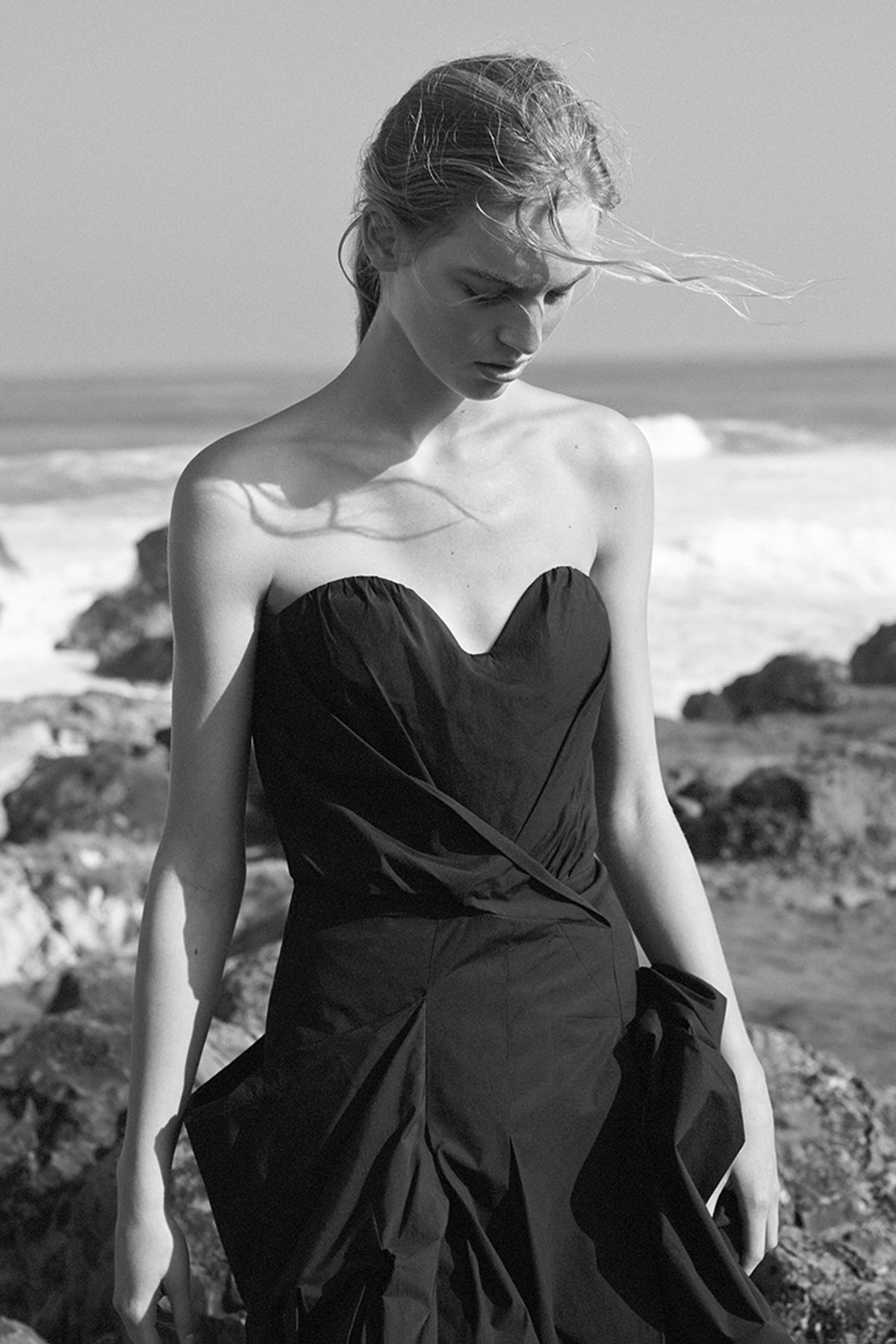 "Vanessa Axente by Josh Olins in ""Island Dressing"" for WSJ Magazine, April 2015"