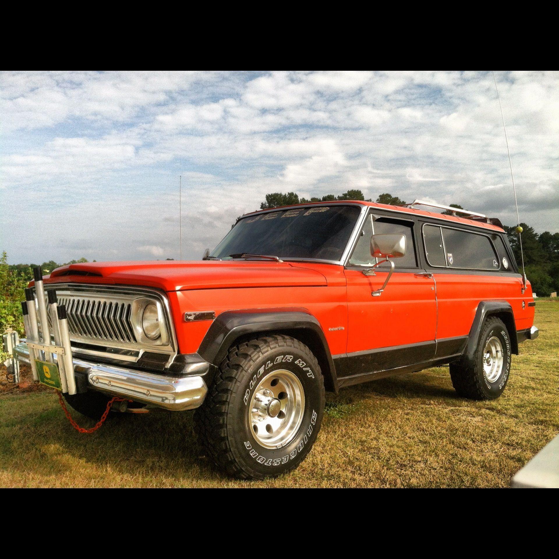 Jeep Cheroker: My 1977 Jeep Cherokee Chief S