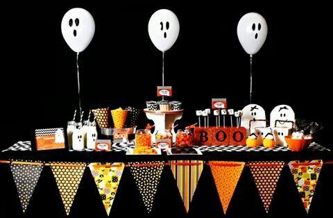 Mesa dulces halloween Halloween Pinterest Dessert table