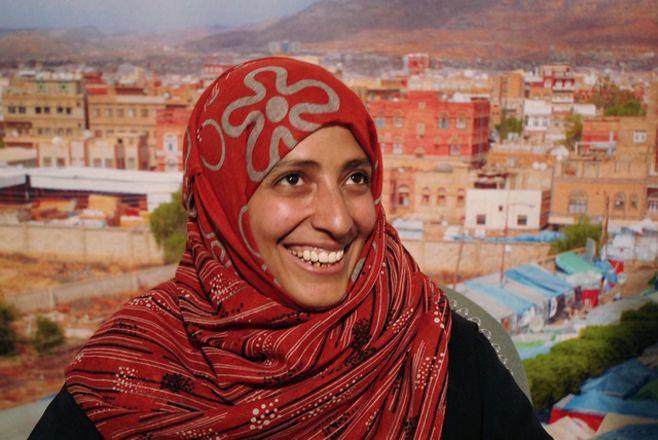 Yemeni Tawakul Karman, Nobel Peace Prize winner 2011