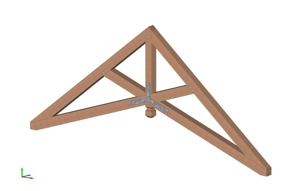 Scissor Truss Vermont Timber Works Heavy Timber