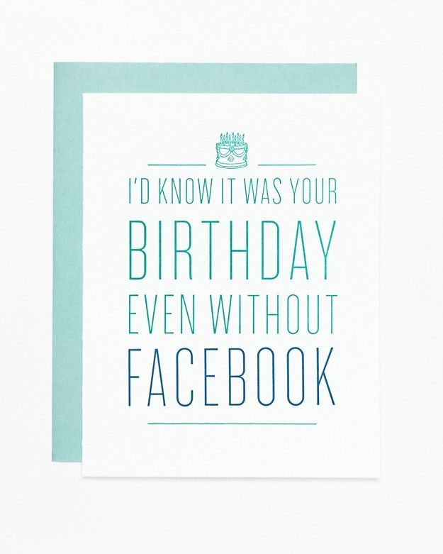 Sycamore street press facebook funny birthday card sold at sycamore street press facebook funny birthday card sold at anthropologie bookmarktalkfo Images