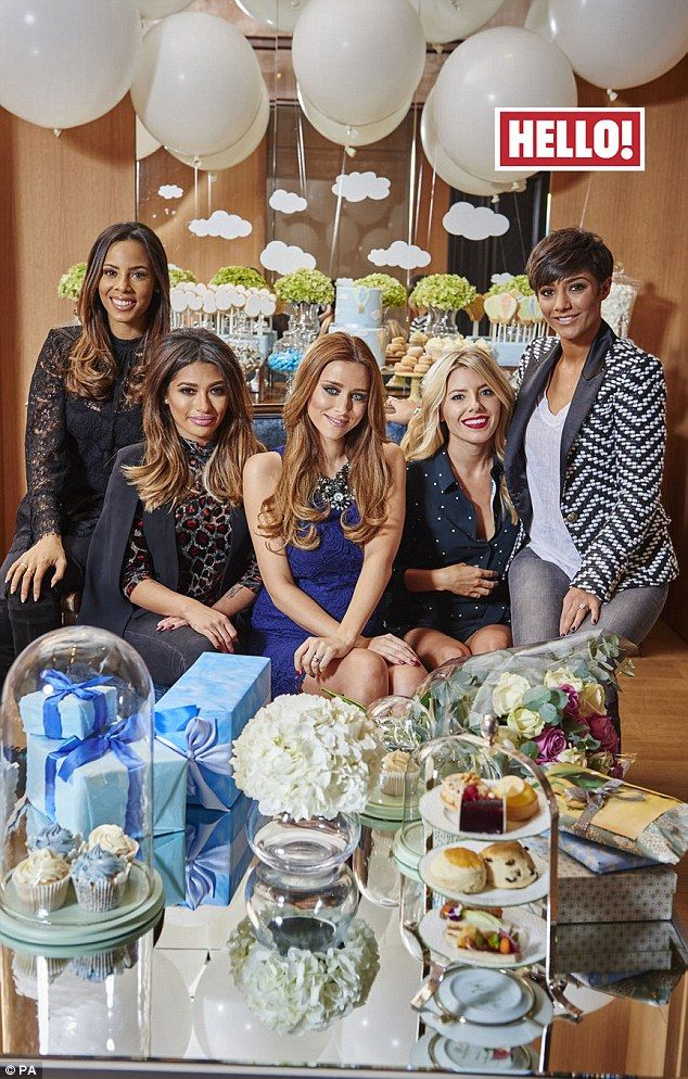 Something Blue: Una Foden Enjoyed A Baby Shower With Her Saturdays  Bandmates As She Talked About Expecting Her Second Child   A Son