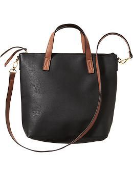 6119f30870 Women s Textured Faux-Leather Totes