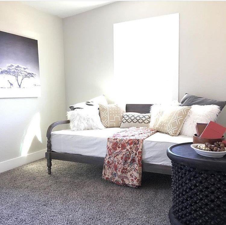 Guest Room Home Staging, Hodges Design Austin TX