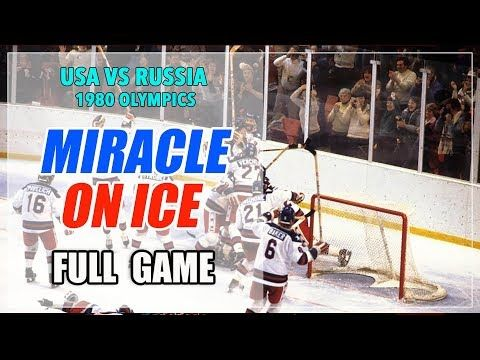 Usa Vs Russia Ussr Soviet Union 1980 Olympics Hockey Full Game Miracle On Ice Youtube In 2020 Olympic Hockey Full Games Olympics