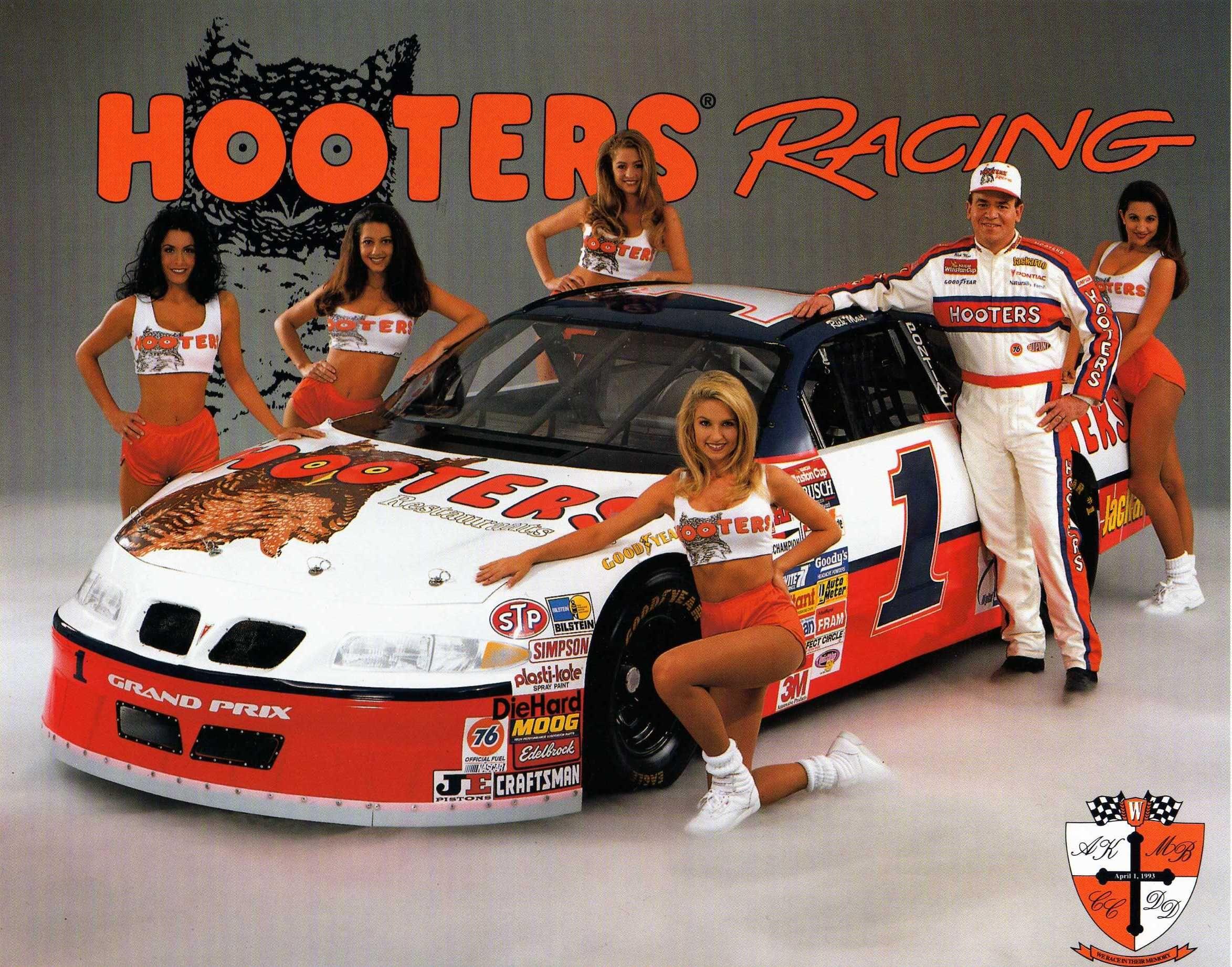 23b4c85fad Hooters NASCAR y all