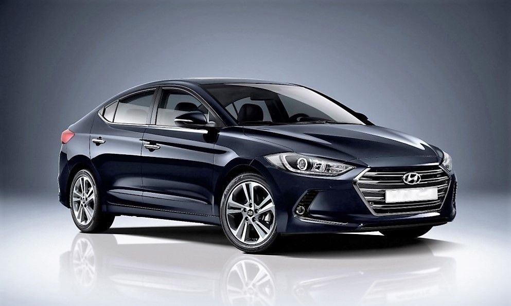 Hyundai Elantra 2016 (New Edition) Spotted in Testing