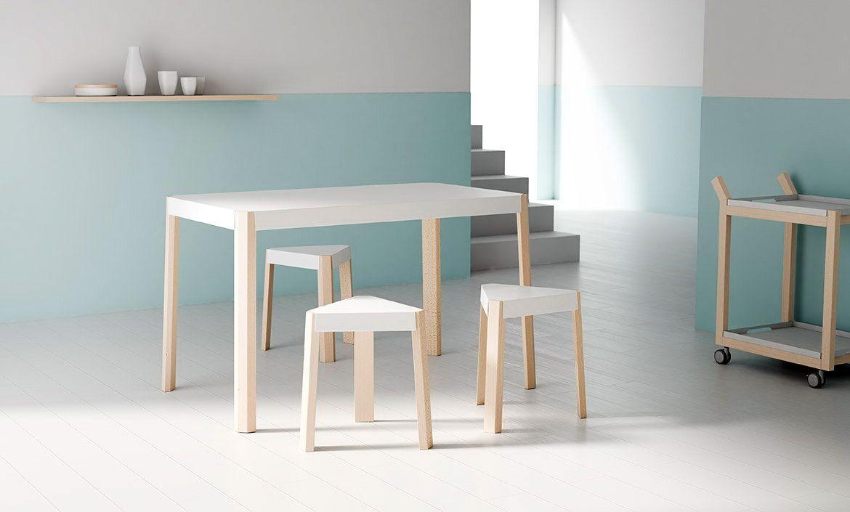 Mesa cocina PODIO, catálogo Muebles ANTOÑÁN, del fabricante español ...