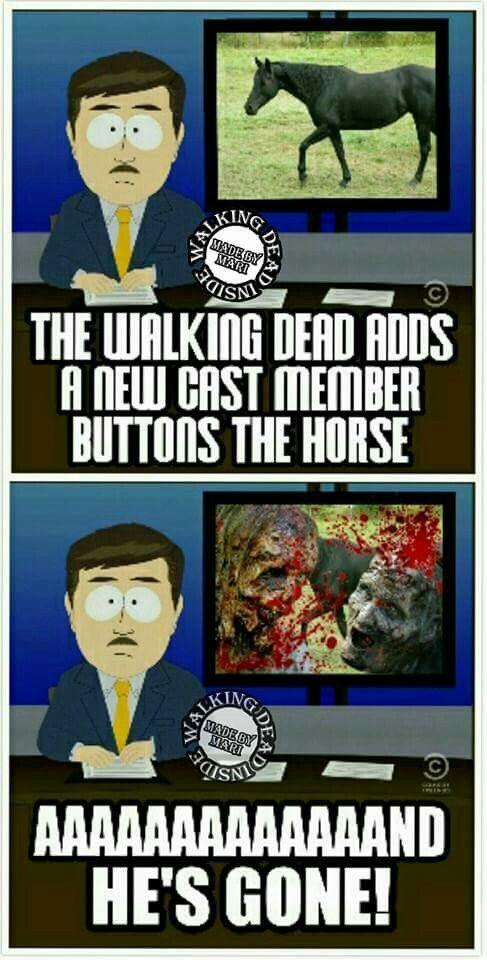 Buttons Walking Dead Funny Walking Dead Memes The Walking Dead 2