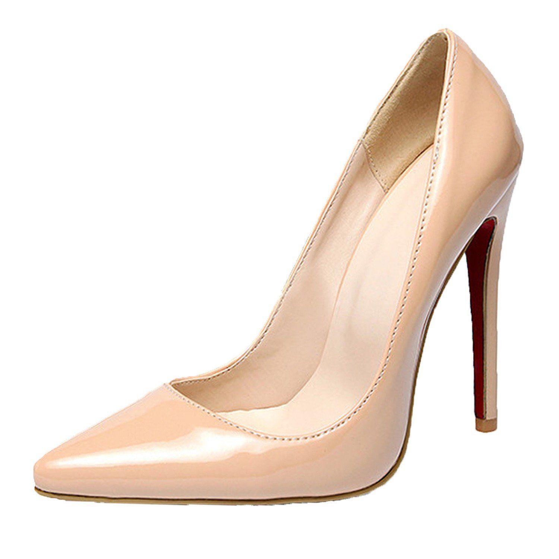 Zara Low Cut T-Bar Faux Patent Leather Court Shoe ($100