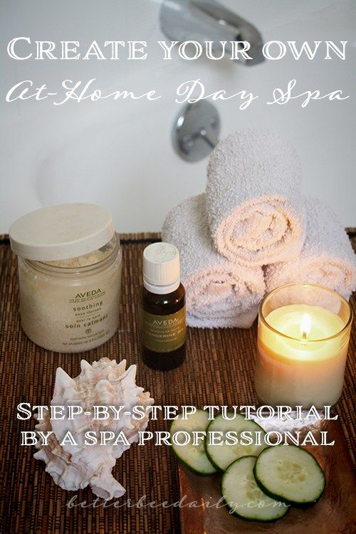 step by step at home day spa with free spa recipes printable make