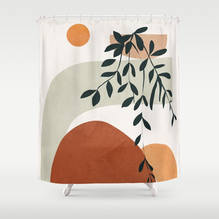 Buy Soft Shapes I Shower Curtain By Cityart7 Worldwide Shipping Available At Society6 Com Just O In 2020 Abstract Shower Curtain Shower Curtain Unique Shower Curtain