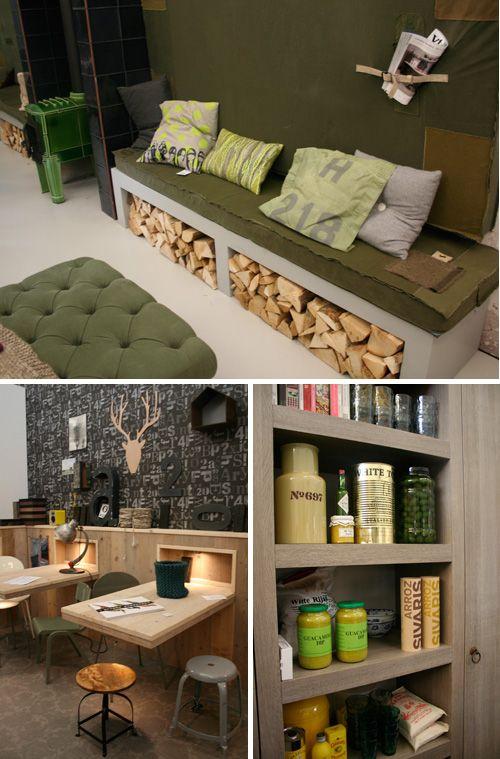 Miraculous Store Firewood Under A Bench Genius Firewood Storage Dailytribune Chair Design For Home Dailytribuneorg