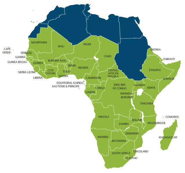 #SubSaharanAfrica #growth will slow in 2015 to 4.0 percent due fall #OilPrices and other #commodities