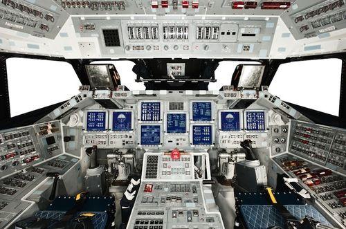 Shuttle Cockpit.