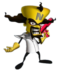 Dr Neo Cortex Gif Google Search Mario Characters Character Crash Bandicoot