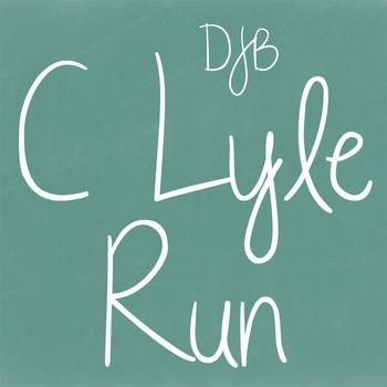 Download DJB C Lyle Run Font - Personal Use | Lyle, Free teacher ...