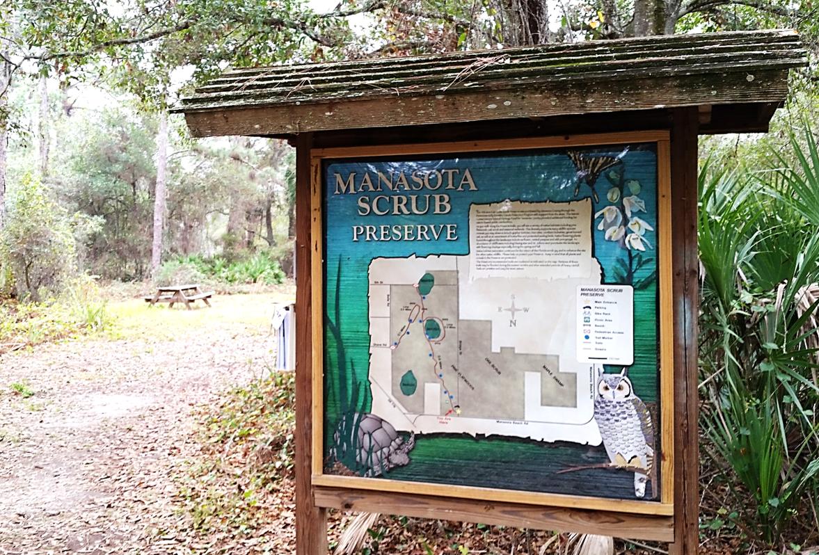 Just off Manasota Key visit the trail to see Manasota ...