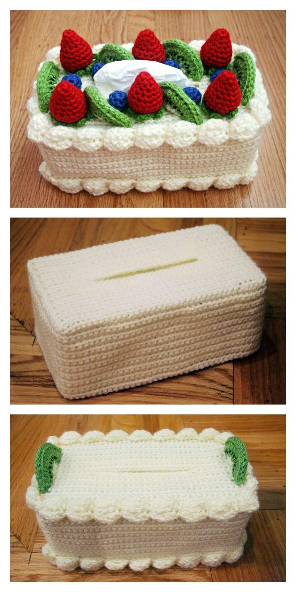 Tissue Cozy Free Crochet Patterns Pinterest Tissue Boxes Free
