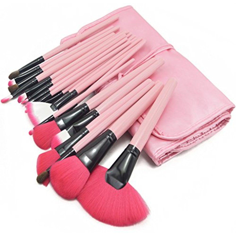ZENITH FASHION 24Piece Pink Eye Shadow Foundation Cosmetic