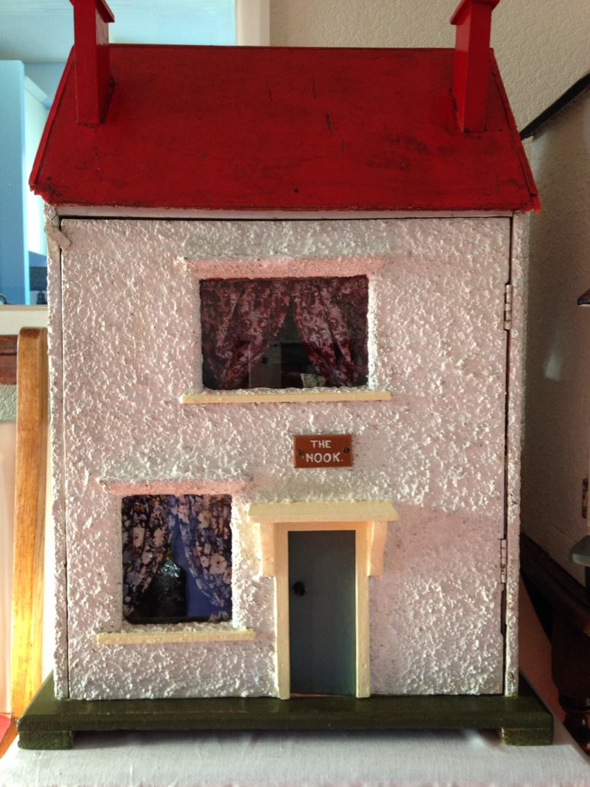 my dolls house the nook probably 1940s my own dolls houses Doll Houses Books my dolls house the nook probably 1940s