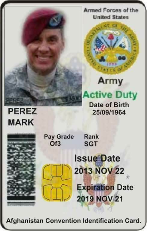 Fake Id Id Card Template Armed Forces Certificate Templates