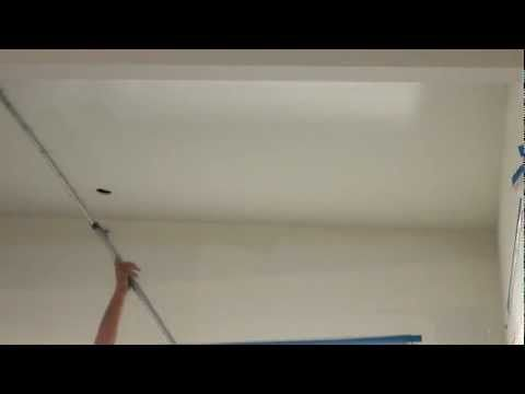 How To Spray Paint And Back Roll A Ceiling Using An Airless Sprayer Sprayers Spray Finish Spray Painting