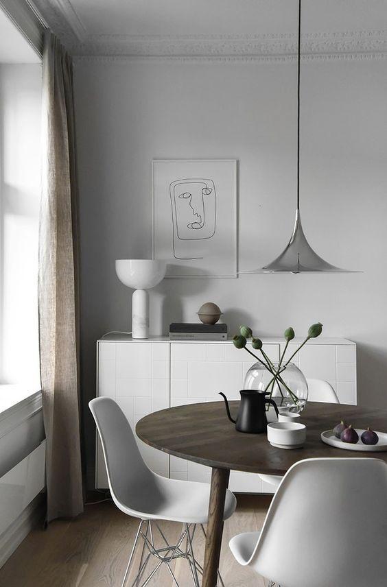 15 Dreamy Minimal Interiors | Skandinavisch wohnen, Esszimmer und ...
