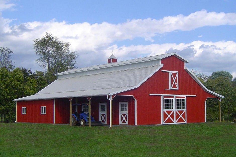Superb Red Barn Houses #5: Pinterest