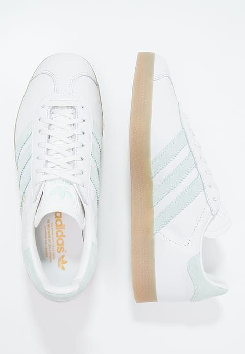 Chaussure Gazelle Adidas Green Femmes Whitevapour Vintage