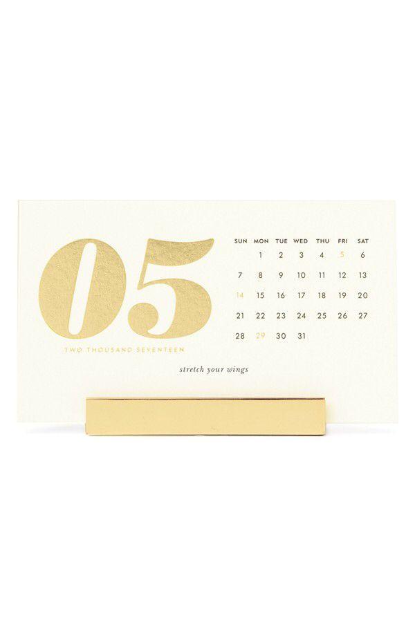 Ordinaire Kate Spade New York Kate Spade New York 2017 Desk Calendar Available At  #Nordstrom