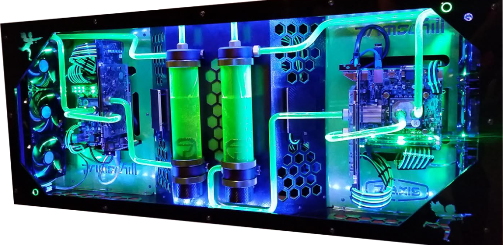 Build A Wall Mounted Liquid Cooled Gaming And Editing