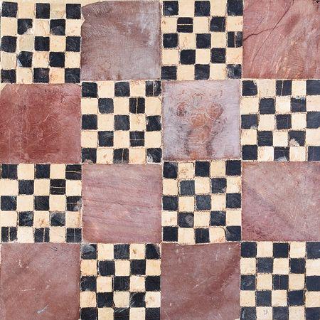 Check Block Honed Limestone Mosaics 8x8 Country Floors Of America Llc Mosaic Beach Inspired Decor Flooring