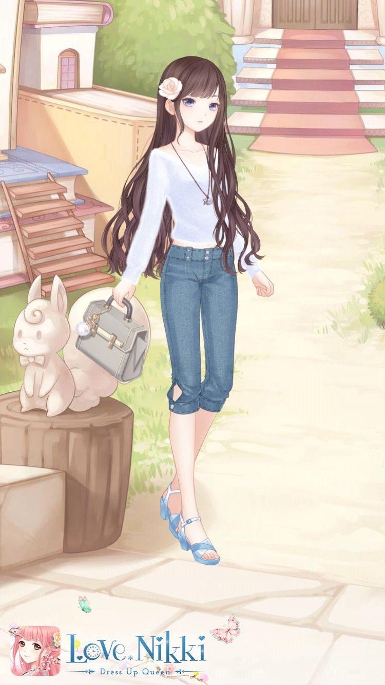 Love Nikki Dress Up Queen Animasi Ilustrasi Peri Fantasi