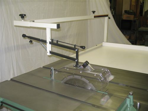 Over Arm Table Saw Blade Guard Dust Collection Google Search