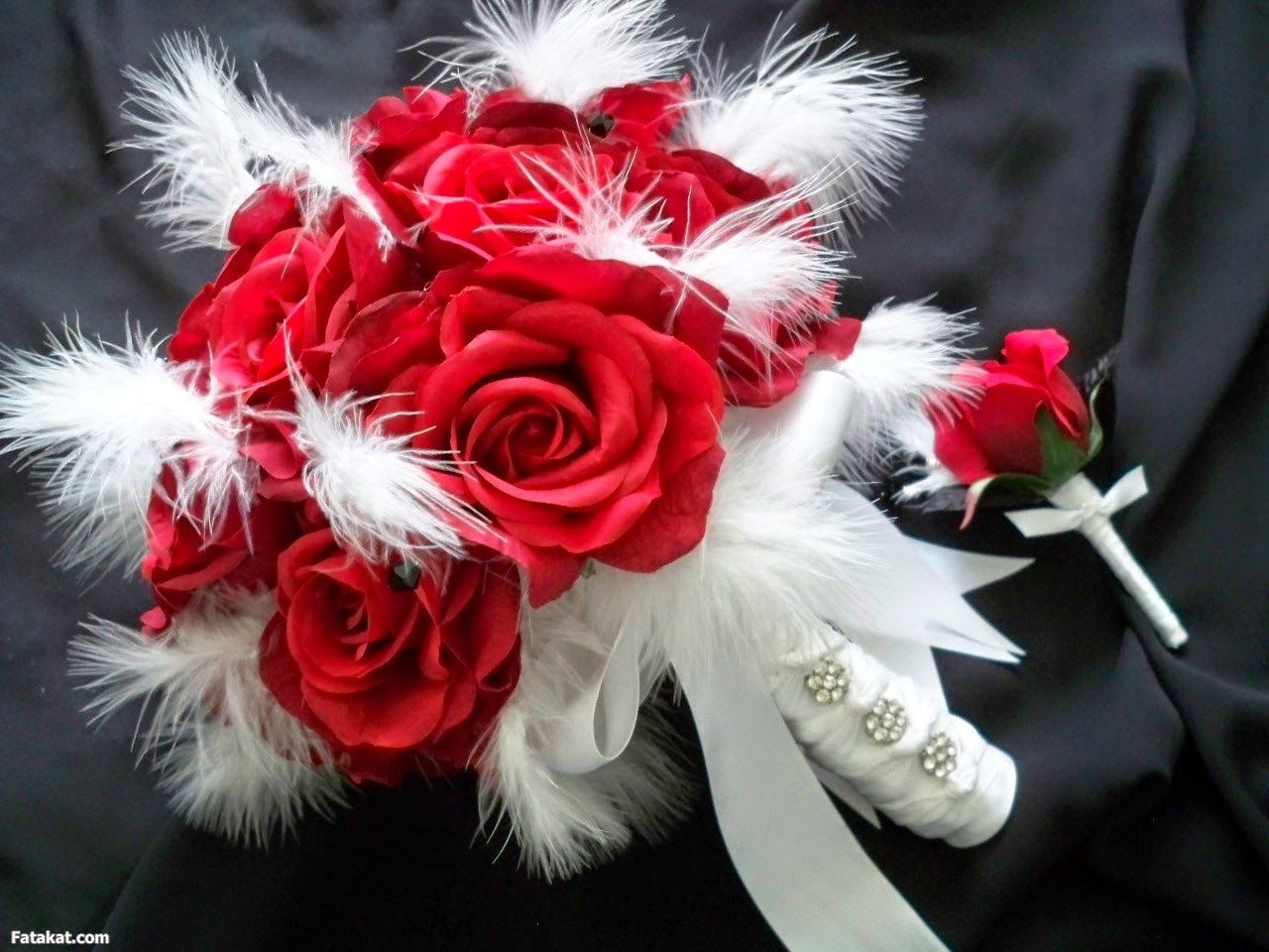 اجمل صور ورد روعة 2020 Wedding Bouquets Sets Silk Bridal Flowers Bridal Bouquet Sets