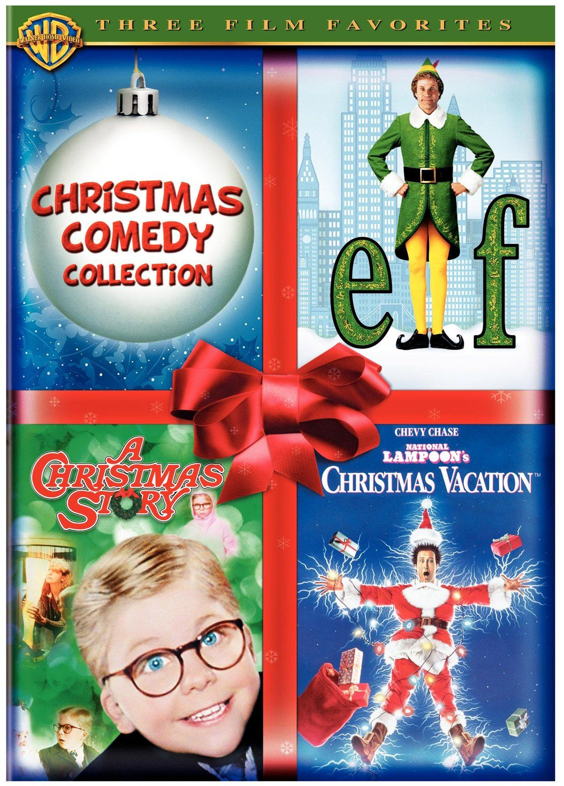 Warner Brothers Christmas Comedy Collection Elf/A