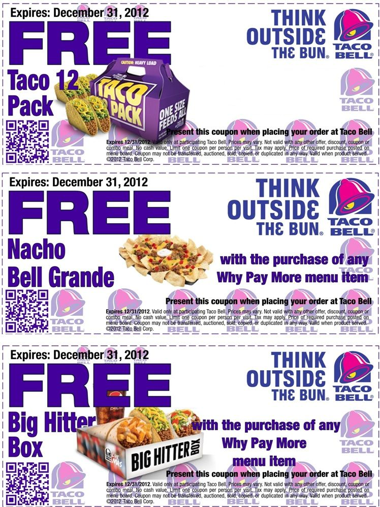 Food Coupons To Print Free Fast Food Coupons Coupons Pinterest