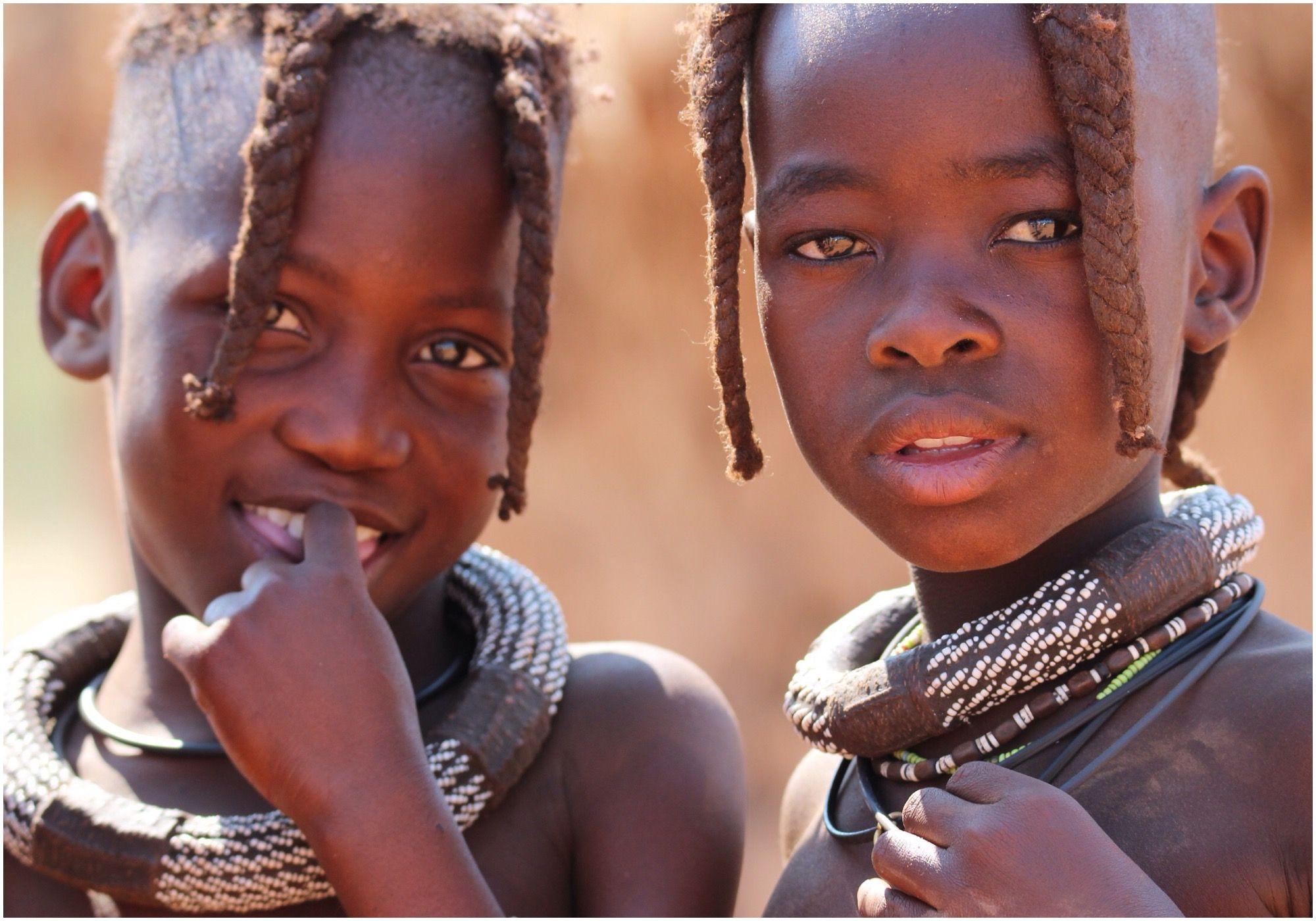 himba girls