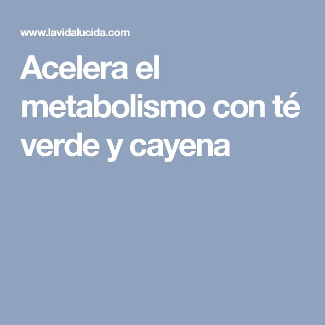 Tipos de metabolismo y enriquecer o mejorar el intento