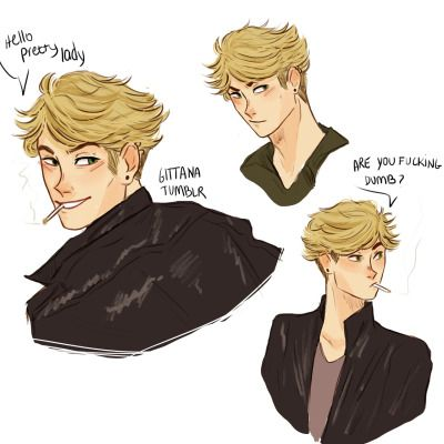 some of you asked me for more bad boy adrien so… check out