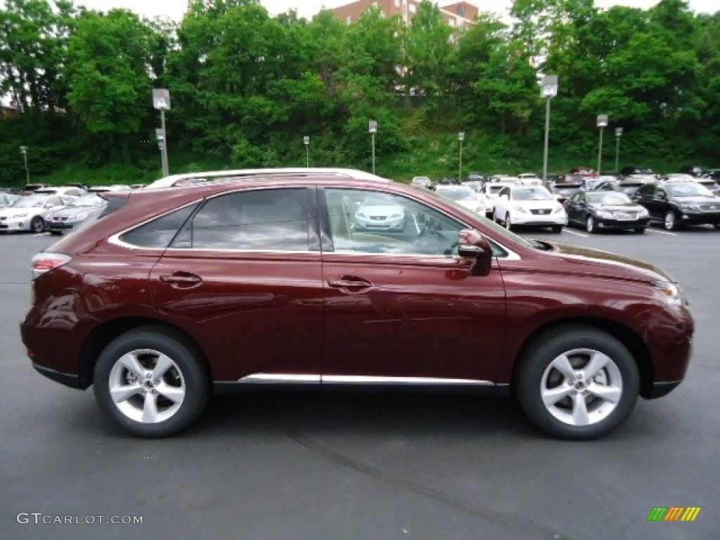 lexus 2014 rx 350 red. lexus rx 350 claret red mica 2013 awd exterior photo 65542929 2014 rx o