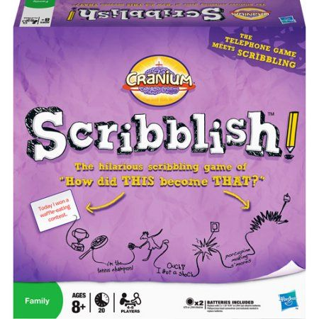 Cranium Scribblish Game