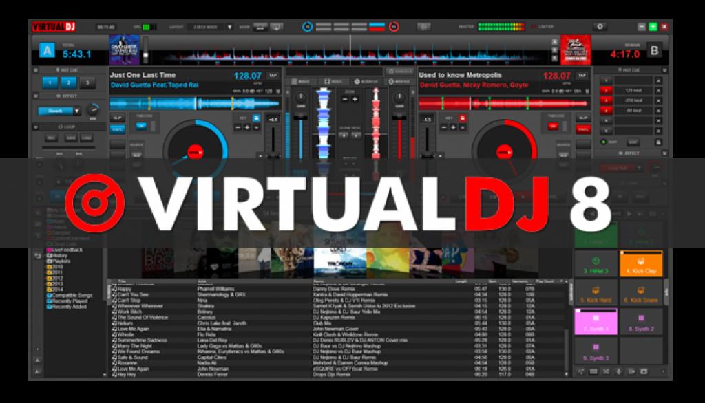 Bàn dj ảo giúp tập luyện để trở thành một DJ chuyên nghiệp