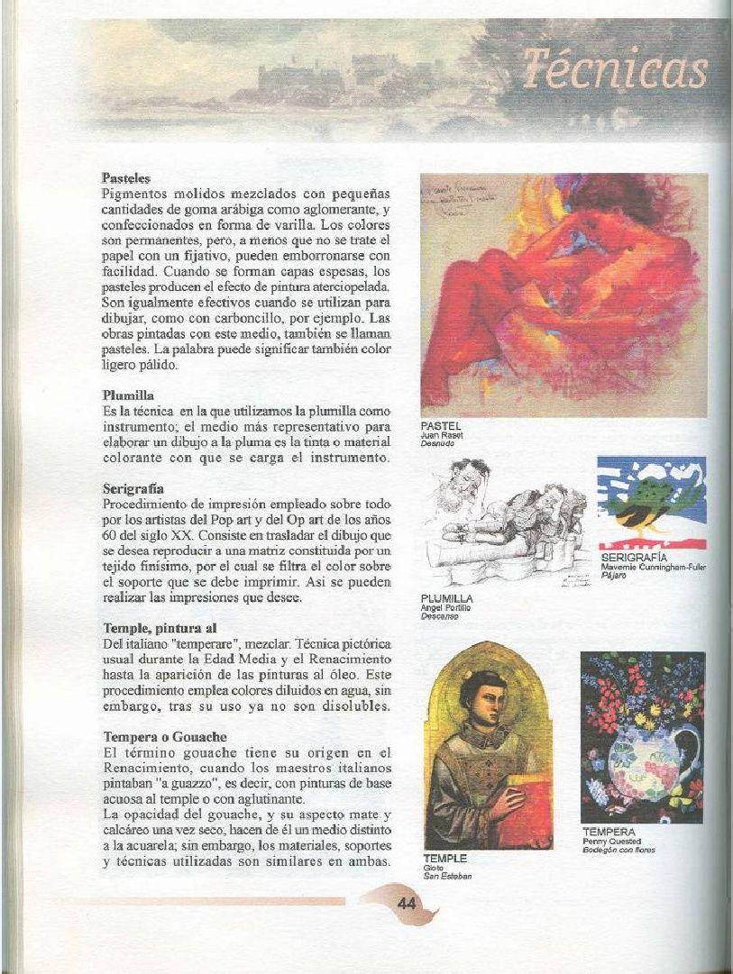 Manual De Conceptos Basicos Para Dibujo Y Pintura Concepto Ya Nada Es Igual Capas