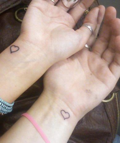 Friendship Tattoo Design 36 - I am thinking sister tattoos, dooz ...