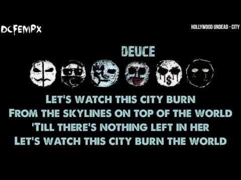 ▶ Hollywood Undead - City Lyrics (HD) - YouTube