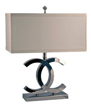 Coco Table Lamp Chanel Lamp Interior Decorating Home Accessories